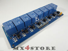 5V DC 230V AC Relay Relais Modul 8 Kanal Channel mit Optokoppler Arduino