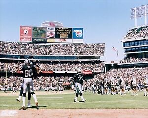 Oakland Raiders Coliseum Licensed Unsigned Glossy 8x10 Photo NFL