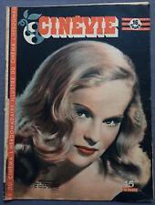 ►CINEVIE 61/1946- PEGGY CUMMINS- SERGE REGGIANI- LOUISE CARLETTI- DANNY KAYE...