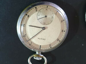 gousset ZENITH Pocket Watch Swiss Made vintage