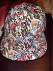 DC Comics WOMENS SUPERHERO  CAP Snapback Flat Brimmed Baseball Cap/Hat