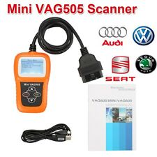 Mini VAG505 Super Professional Scanner Tool Diagnostic Oil/Srs Reset Functions