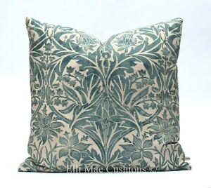 William Morris Bluebell Luxury Vintage Blue Designer Cushion Pillow Cover