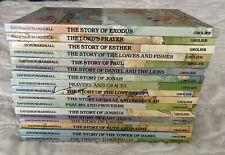 Lot Of 17 Alice In Bibleland Storybooks HC Children's Books Davidson / Marshall