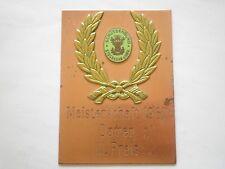 Meisterschaft 1967 Damen III Preis medaille,Schützenbund Stockerau Germany medal