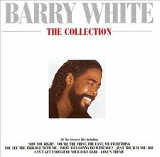Barry White: The Collection by Barry White (CD, Jan-1989, UMVD)
