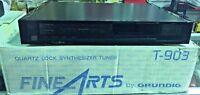 Vintage GRUNDIG FINE ARTS T-903 TUNER Amplifier BRAND NEW IN BOX!!!
