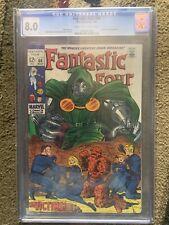 CGC Grade 8.0 Fantastic Four 86 Doctor Doom App Stan Lee Story Kirby&Sinnott Art