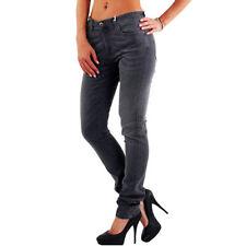 Hosengröße W28 L32 Damen-Jeans mit mittlerer Bundhöhe