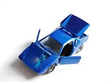 De TOMASO PANTERA GT in blu bleu blu blue metallizzato, POLITOYS M 19 in 1:43!