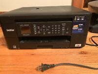 BROTHER MFC-J485DW ALL-IN-ONE Multifunctional Inkjet Printer Scanner Fax