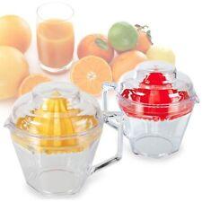 PETITE PRESSE-AGRUMES FRUIT JUICER MANUEL TRANSPARENT ORANGE FRUITS