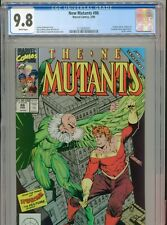 1990 MARVEL NEW MUTANTS #86 1ST APPEARANCE CABLE CAMEO CGC 9.8 WHITE BOX10