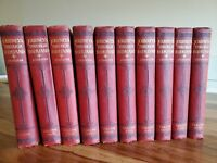 Journeys through Bookland Sylvester 1939 Complete Set Of 10 Red HB