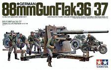 Tamiya 35017 1/35 Scale Military Model Kit WWII German 88mm Gun Flak 36/37