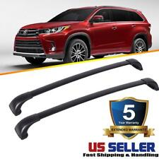 For 2018 Toyota Highlander XLE / Limited Roof Rail Rack Cross Bars OEM Replace