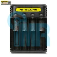Nitecore Q4 4 Channel Battery Charger - Black