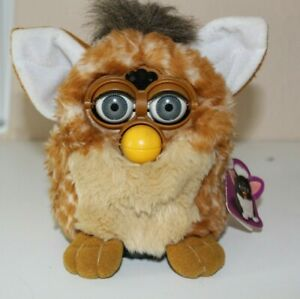 VINTAGE INTERACTIVE ORIGINAL  'FURBY'  BROWN & WHITE WITH TAG