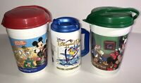 "Lot 3 Disney Orville Redenbacher + Blizzard Beach 8"" Plastic Cups & Containers."