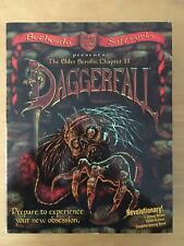 Daggerfall PC Game Big Box Elder Scrolls Bethesda Complete