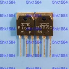 1PAIR OR 2PCS Transistor SANKEN TO-3P 2SB1647/2SD2560 B1647/D2560