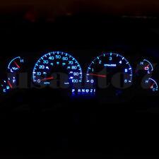 Dash Cluster Gauge Ice Aqua Blue Led Light Kit Fits 99-03 Ford F150