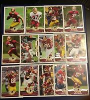 2013 Topps WASHINGTON REDSKINS Complete Team Set 15 Cards REED RC-MORRIS-GRIFFIN