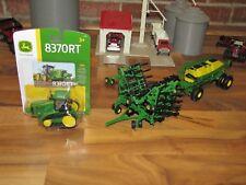 1/64 ERTL JOHN DEERE AIR SEEDER SET w/ John Deere 8370RT Track Tractor