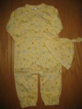 Nwt Gymboree Brand New Baby 3-6 Mo set Unisex Yellow Chick Sleeper Hat