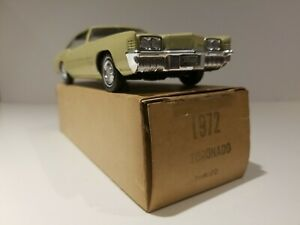 Original Johan Oldsmobile Toronado Factory Authorized Dealer Promo 1/25th Scale