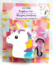 UNICORN Animal EARPHONE CASE - Clip on Backpack or Purse for Easy Holding