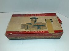 Plasticville Airport Administration Building Ad-4 198 w/box