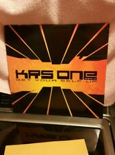 """KRS-ONE - GET YOUR SELF UP (+PETE ROCK REMIX) (12"""")  2001,  RARE!!!"""
