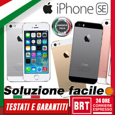 SMARTPHONE APPLE IPHONE SE 32GB/64GB RIGENERATO_ORIGINALE! 12 MESI GARANZIA
