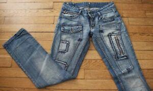 KAPORAL 5 Jeans pour Femme W 26 - L 32 Taille Fr 36 PRISCILIA (Réf #O186)