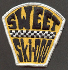 Vintage Sweet Ski-Doo Snowmobile Patch / Badge 1970's!! SKIDOO Sled 1970's NOS