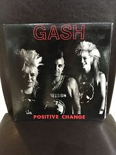 GASH  POSITIVE CHANGE MELBOURNE PUNK RARE! DEPRESSION VG++