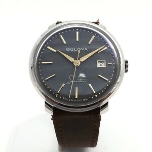 Bulova Frank Sinatra The Best Is Yet To Come 96B345 Stainless Steel Mens Watch