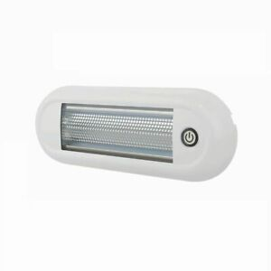 Roof Lamp Touch LED White IP67 12/24v ECE R10 Approved DURITE 0-668-88