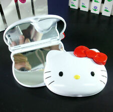 New HelloKitty Bling Compact two-sided mirror Cosmetic / Make Up Mirror LM962a5