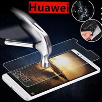 For Huawei Phone 100% 9H Tempered Glass Screen Protector Protective Film