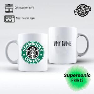 STARBUCKS PERSONALISED MUG cup tea coffee ADD ANY NAME