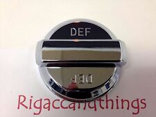 DEF Tank Chrome Cap Cover fits Peterbilts and Kenworths - 1pc