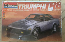 Sealed Silver 1980 Triumph TR8 Monogram 1/24 Scale Model Kit - Sealed NEW