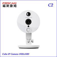 P2P Full HD 1080P Foscam C2 IP Camera 2.0MP TF Storage 8x Digital Zoom PIR WH