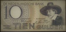 10 Gulden 1943 Banknote - the Netherlands