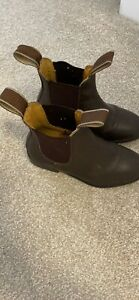 Child's Loveson Equestrian Riding Brown Leather Boot
