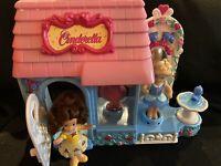 2002 Disney Cinderella My First Princess Dress Shop Play Set  Musical 3 dolls
