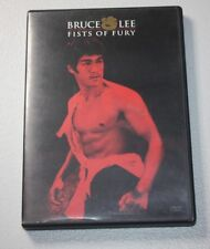 FISTS OF FURY (DVD) BRUCE LEE ~JEET KUNE DO ~MARTIAL ARTS ~DVD + CASE INCL.