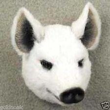 (3)  LITTLE  PIGS;  WHITE, BLACK  & A RAZOR BACK HOG! COLLECTABLES! Lot 3